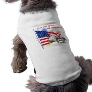 Westie – American Dream Sleeveless Dog Shirt