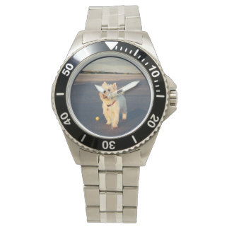 Westie Beach Wrist Watches