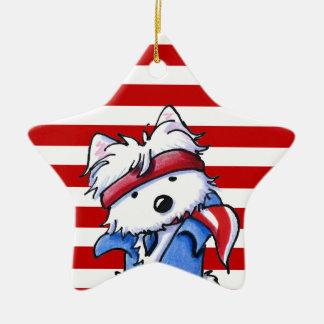 Westie Boss Ornament