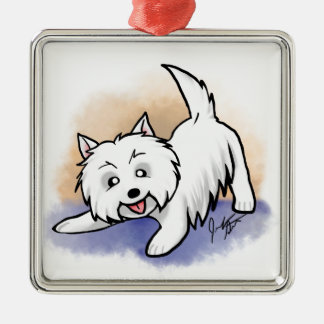 Westie Christmas Ornament