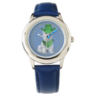 Westie Cowboy Watches