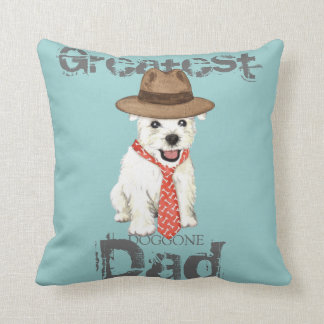 Westie Dad Cushion