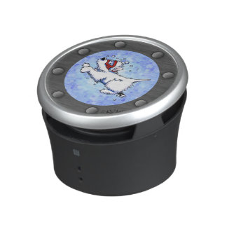 Westie Diver Porthole Bumper Speaker