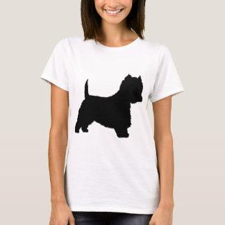 Westie Dog (black) T-Shirt