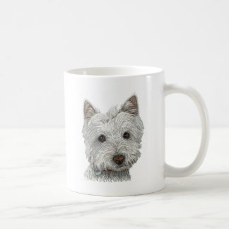 Westie dog coffee mug