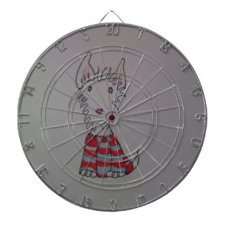 westie dog items dartboard