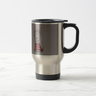 westie dog items travel mug