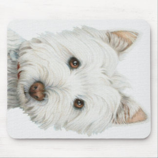 Westie Dog Mouse Mat