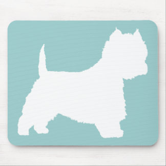 Westie Dog (white) Mouse Mat