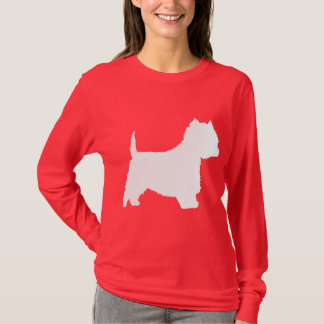 Westie Dog (white) T-Shirt