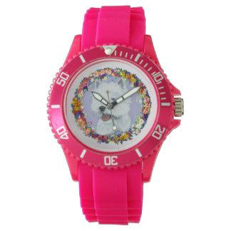 Westie Floral Watch