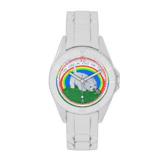Westie Flowers Wristwatch