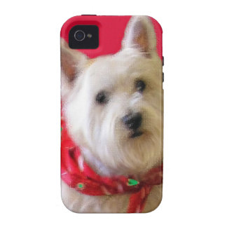 WESTIE FOR THE HOLIDAYS VIBE iPhone 4 COVER