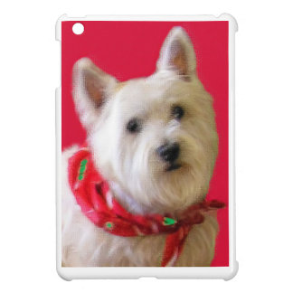 WESTIE FOR THE HOLIDAYS iPad MINI COVER