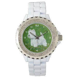 Westie Greengrass Wrist Watch