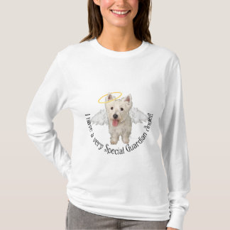 Westie Guardian Angel T-Shirt