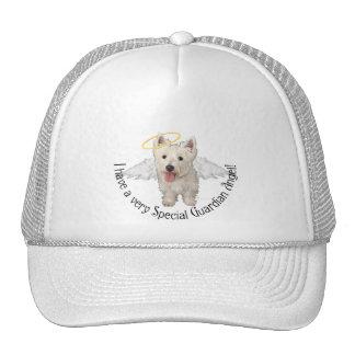 Westie Guardian Angels Trucker Hat