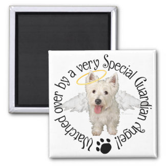 Westie Guardian Angels Magnet