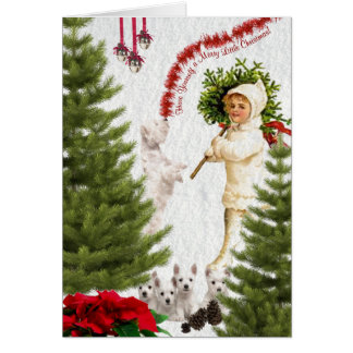 Westie Have Yourself a Merry Little Christmas Greeting Card