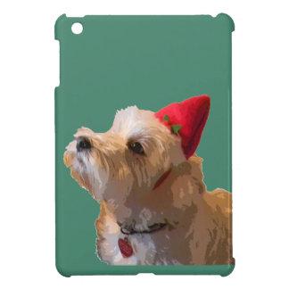 Westie in a Santa hat iPad Mini Cases