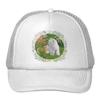 Westie in the Garden Hats
