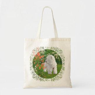 Westie in the Garden Bag