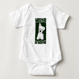 Westie is Bestie Baby Bodysuit