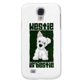 Westie is Bestie Galaxy S4 Case