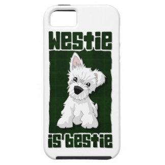 Westie is Bestie Tough iPhone 5 Case