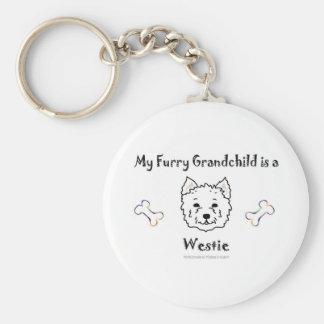 Westie Key Ring