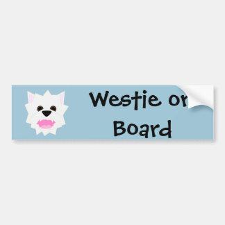Westie Love Bumper Sticker