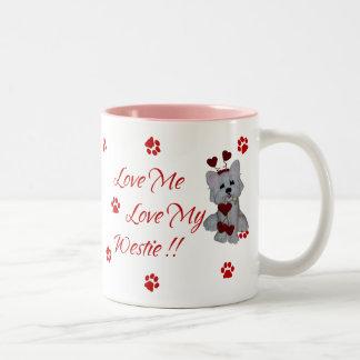 Westie Love Me Love My Mug