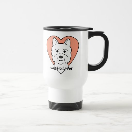 Westie Lover 15 Oz Stainless Steel Travel Mug