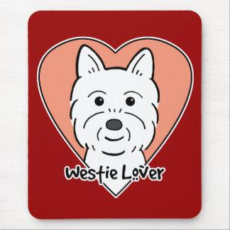 Westie Lover Mouse Mat