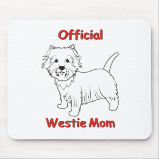 Westie Mom Mouse Mat