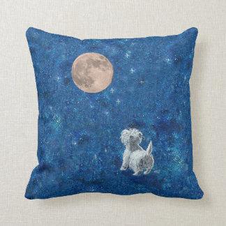 Westie Moon PILLOW