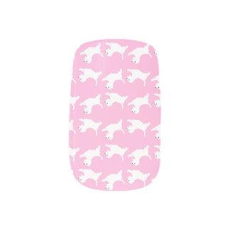 Westie Nails Sticker