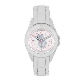 Westie Pink Collar Wrist Watches