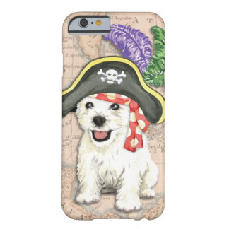 Westie Pirate Barely There iPhone 6 Case