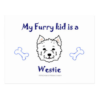 Westie Postcard