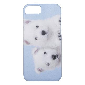 Westie puppies iPhone 7 case