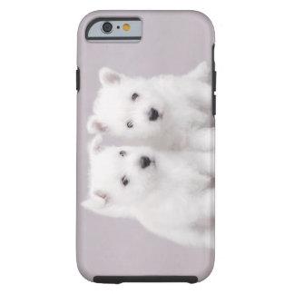 Westie puppies tough iPhone 6 case