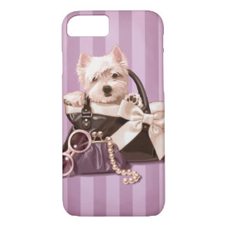 Westie puppy iPhone 7 case