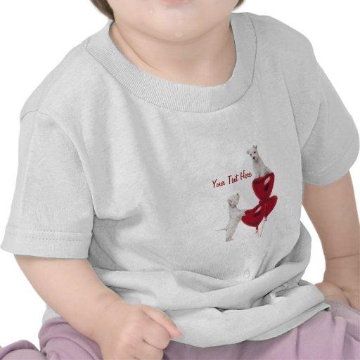Westie Puppy Love Tshirt