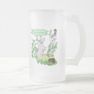 Westie Puppy Number 2 St Pattys Day Wishes Mug