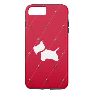 Westie Red Diamonds iPhone 7 Plus Case