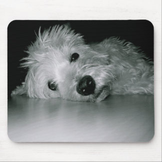 Westie Relaxing Mouse Mat