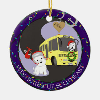 Westie Rescue SouthEast Christmas Ornament