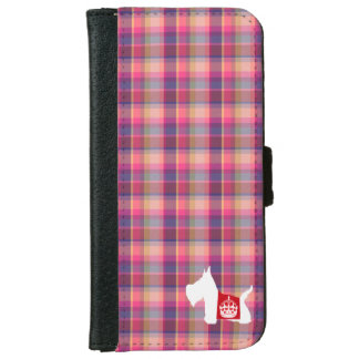 Westie Royal Crown iPhone 6 Wallet Case