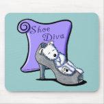 Westie SHOE DIVA Mousepad